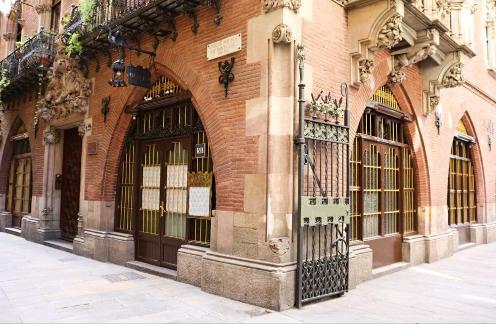 Café quatre gats de Barcelona