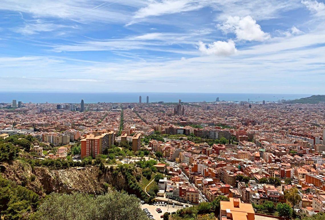 Vistas sobre Barcelona