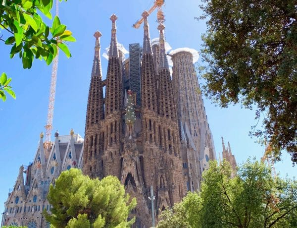 Sagrada Familia en 2019